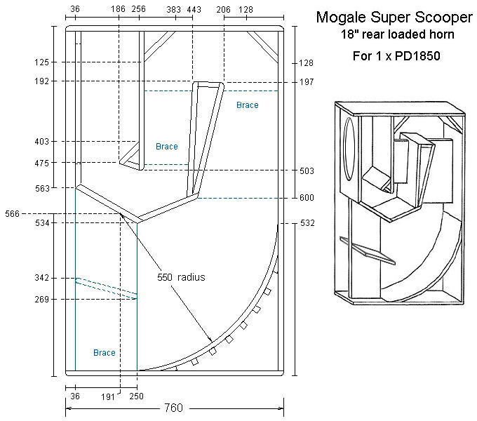 18 Inch Subwoofer Enclosure Plans http://www.cerwin-vega-fans.com/forums/viewtopic.php?f=3&t=1071